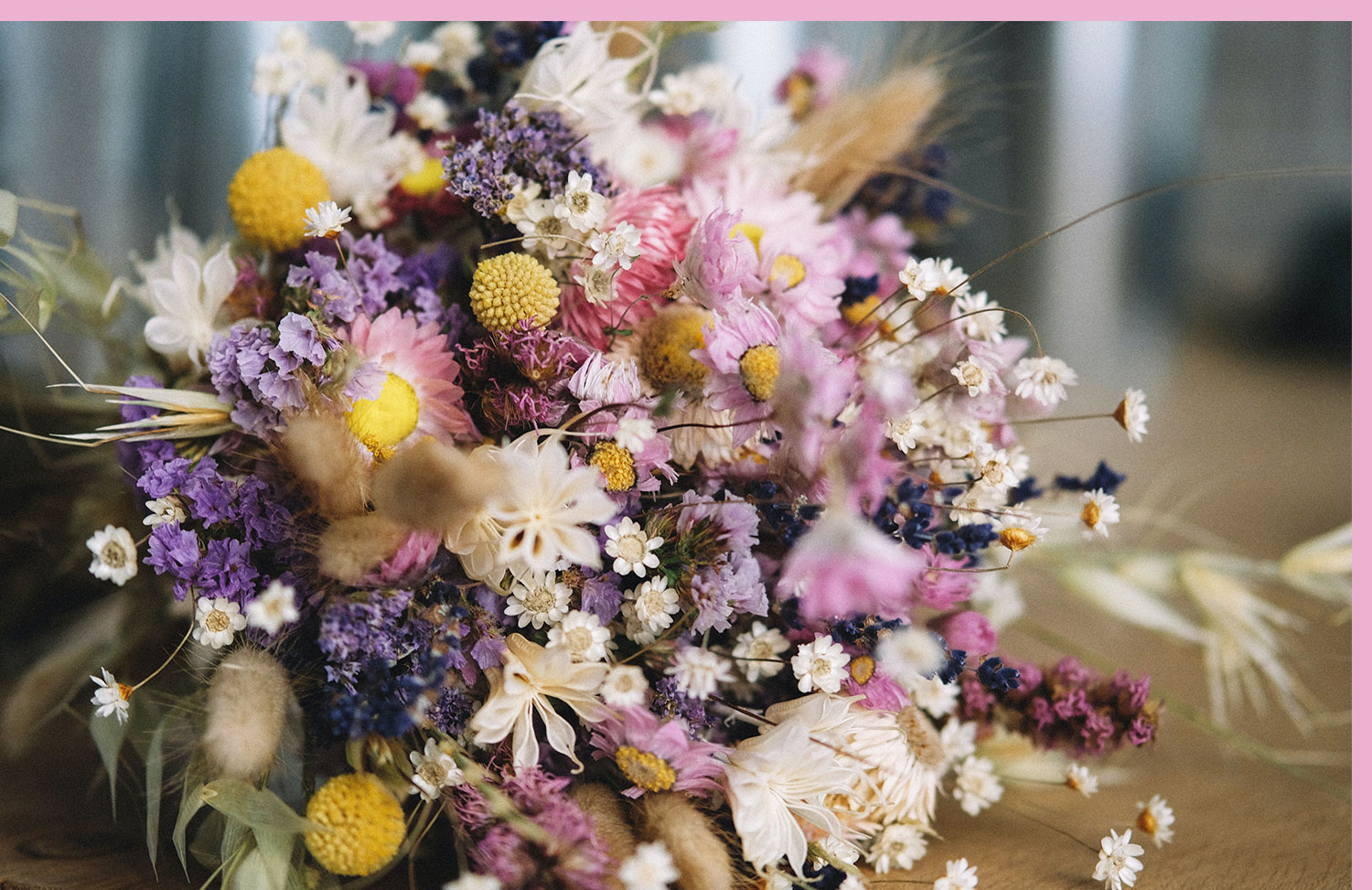 bouquet of purple, pink and white flowers
