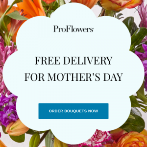 Mother's Day Free Delivery
