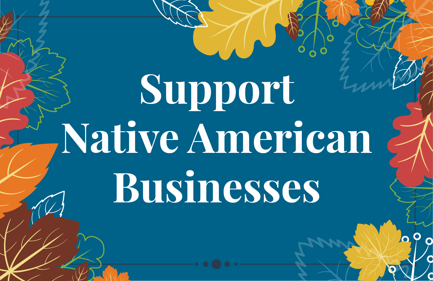 support native american businesses