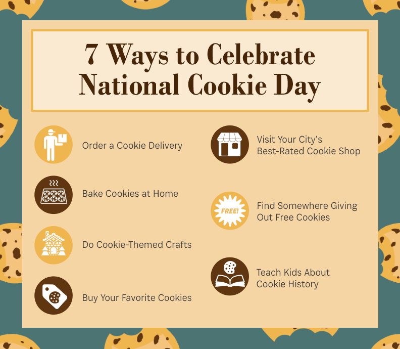 ways to celebrate cookie day