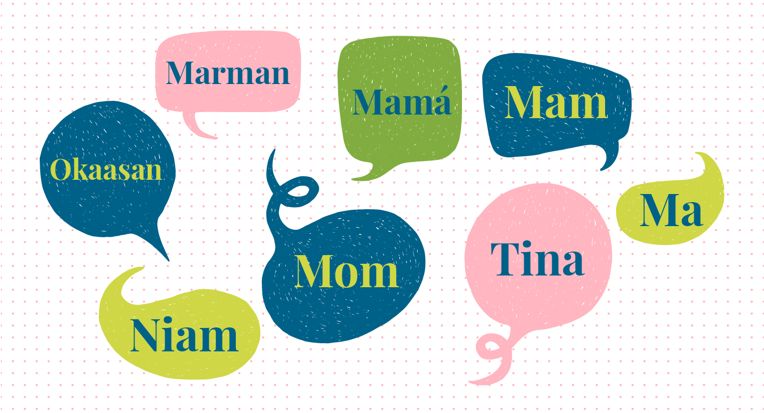 """""""Mom"""" in Different Languages"""