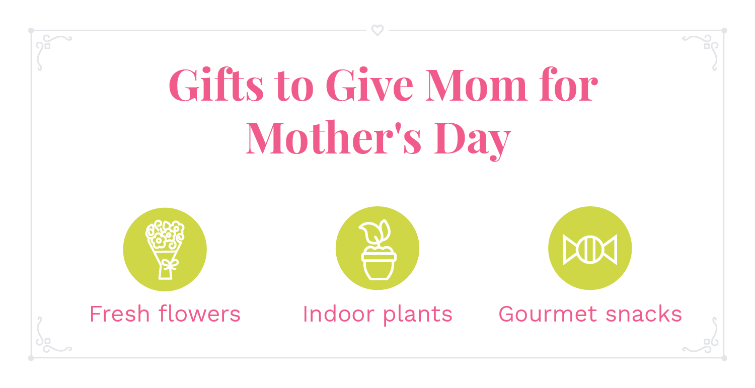Some gift ideas to give mom on Mother's Day